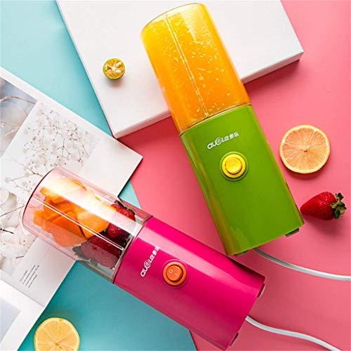 AG Haushalts Entsafter, Mini tragbare elektrische Entsafter Cup, Entsafter, Multifunktions-Kleinobst und Gemüsemixer,Grün