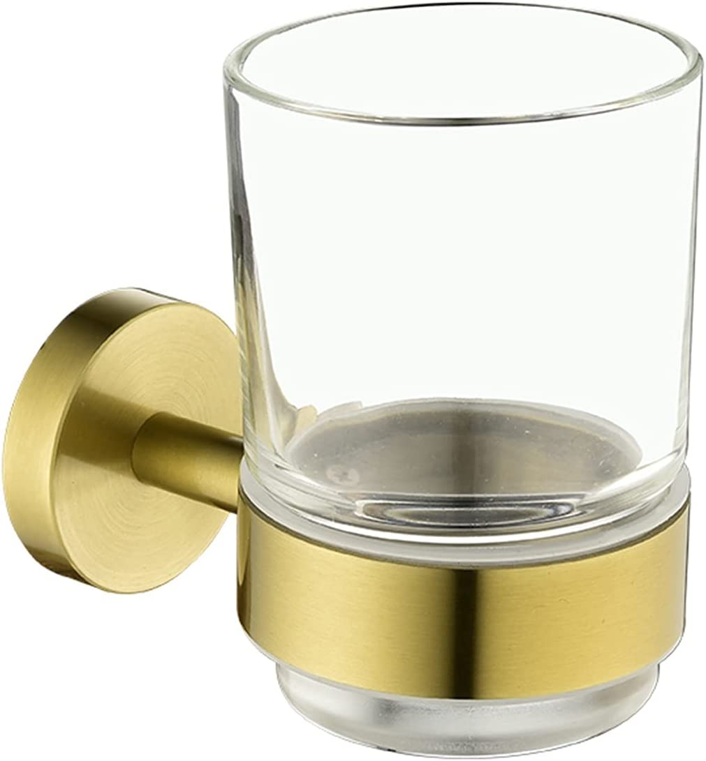 YSYSPJM Toothbrush Holder Polished Milwaukee Mall Brushe Gold Be super welcome
