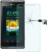 JIANGNIAE Screen Protectors 0.26mm 9H+ Surface Hardness 2.5D Explosion-proof Tempered Glass Film for Sony Xperia C4 (Color : Color1)