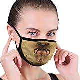 Hannibal Lecter Covid Dust Reusable Washable Comfortabl Mouth Windproof Adjustbale Face Cover, Black