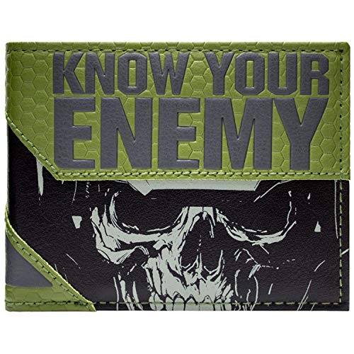 Activition Call of Duty unendlich Warfare Grau Portemonnaie Geldbörse