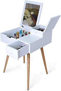Amazon Com White Vanities Vanity Benches Bedroom Furniture