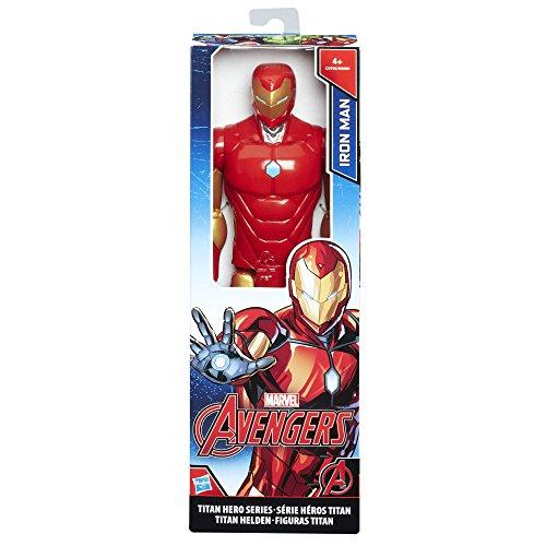 Avengers - Iron Man Titan Hero (Personaggio 30cm, Action Figure), C0756ES0