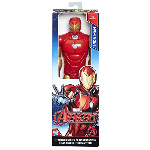 Avengers Marvel Figura Titan Iron Man (Hasbro C0756ES0)