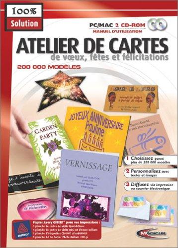 Atelier de Cartes de voeux, Fête et Félicitations
