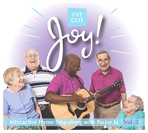 Dementia Friendly Activity CD & DVD I've Got Joy Vol. 2 Interactive Music for Seniors with Alzheimer's Hymn Sing Along (Words on Screen) …