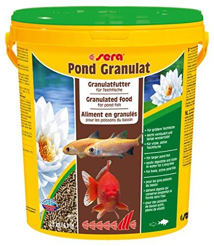 sera pond granulat - schwimmende Teichsticks bzw. pond Sticks für alle Teichfische mit Präbiotika für verbesserte Futterverwertung, geringere Wasserbelastung und weniger Algen