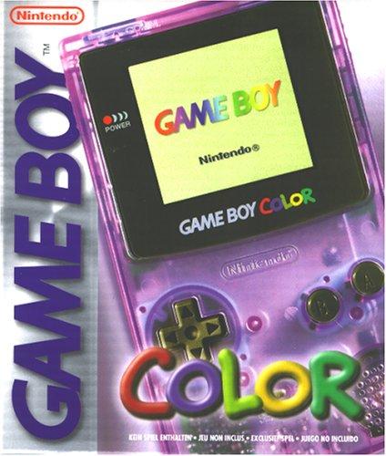 Game Boy - Gerät Color Clear