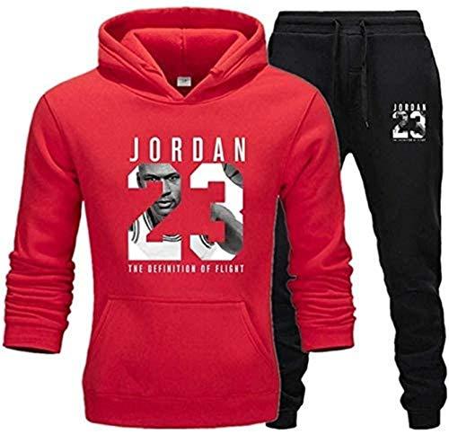 Sudadera con capucha NBA Chicago Bulls23 Sudadera con capucha, traje de sudadera, ropa deportiva, sudadera con capucha, pantalones de manga larga, pantalones de sujeción, suave y liviano, sudor de ent