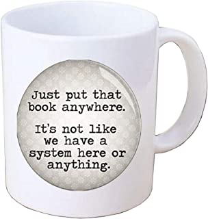Librarian Coffee Mug-Librarian Gift-Librarian-Quote Coffee Mug-Bookseller-photo Mug,glass dome Coffee Mug.F296