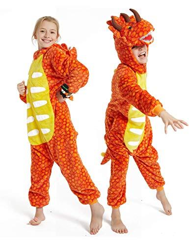 BLOSSOMLIFE triceratop dinosaurus draak onesie kind aankleden gift meisje pyjama cosplay kostuum jongen bodysuits