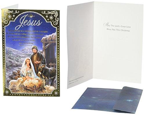 Christmas Boxed Cards - Nativity Scene - Jesus
