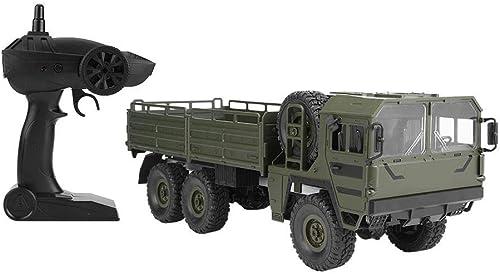 salida para la venta Dilwe RC RC RC Camión Coche, JJRC Q64 1 16 Control Remoto Modelo Camión 6WD SimulaciónTransportador de Coches de Juguete(verde)  tienda en linea