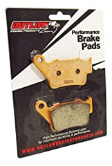 ✅ Outlaw Racing high-performance sintered metal brake pad are designed for longer pad life ✅ Offering a powerful initial bite, superior fade resistance and quicker cool down than standard OEM pads ✅Compatible with: DUCATI GT1000 2006-2007 PAULSMART 1...