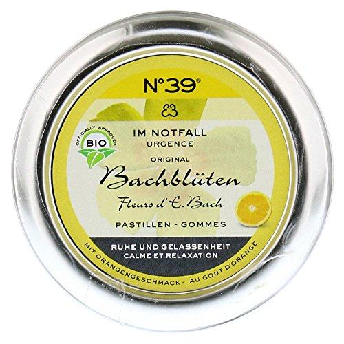 Bachbl�ten Notfall No.39 Pastillen BIO, 45 g