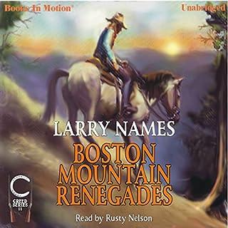Boston Mountain Renegades audiobook cover art