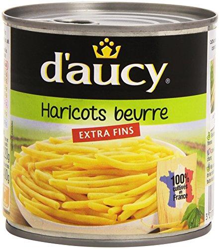 DAucy Haricots Beurre Extra Fins La Boîte 400 g