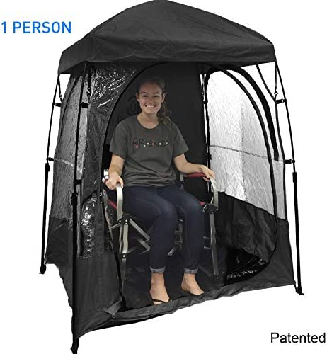 EasyGoProducts CoverU Sports Shelter Weather Tent Pod Patented product image