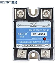 Electrical Equipments Ssr-25Da Dc-Ac 25A Solid State Relays 220V Ac Output 3-32V Dc To 24-480 V Ac 12V Solid State Relay Module Switch Ssr 25A