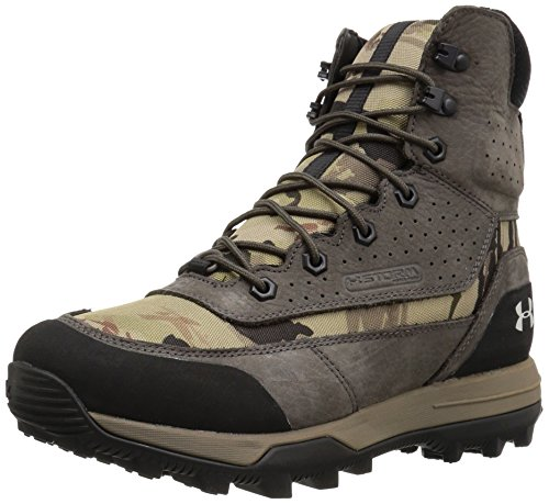 Under Armour Women's Speed Freek Bozeman 2.0 600g Ankle Boot, Ridge Reaper Camo Ba (900)/Maverick Brown, 6.5
