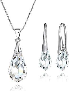 Mestige Jewellery Drop Set with Swarovski® Crystals