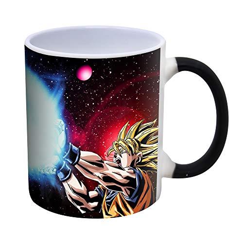Anime Arts Dragon Ball Z Goku Kamehameha Kaffeetasse mit Farbwechsel, wärmeempfindlich – 300ml (Mug)