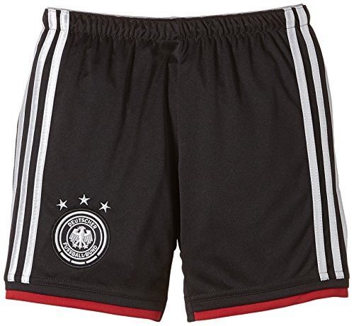 adidas Kinder Trainingsshirt DFB Short Away WM, Black/Mtsilv, 176