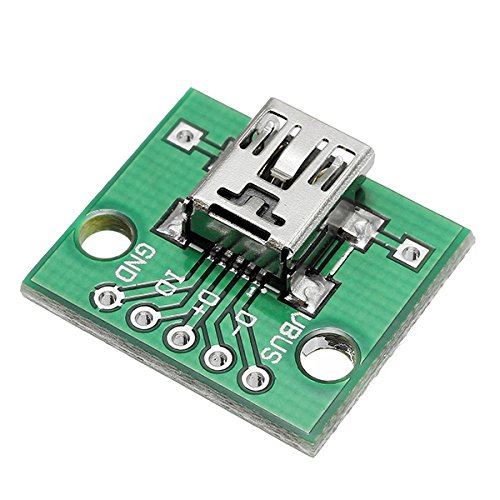 Les – 30 stuks USB tremper mini kop dames 5P patch dip board 2,54 mm adapter