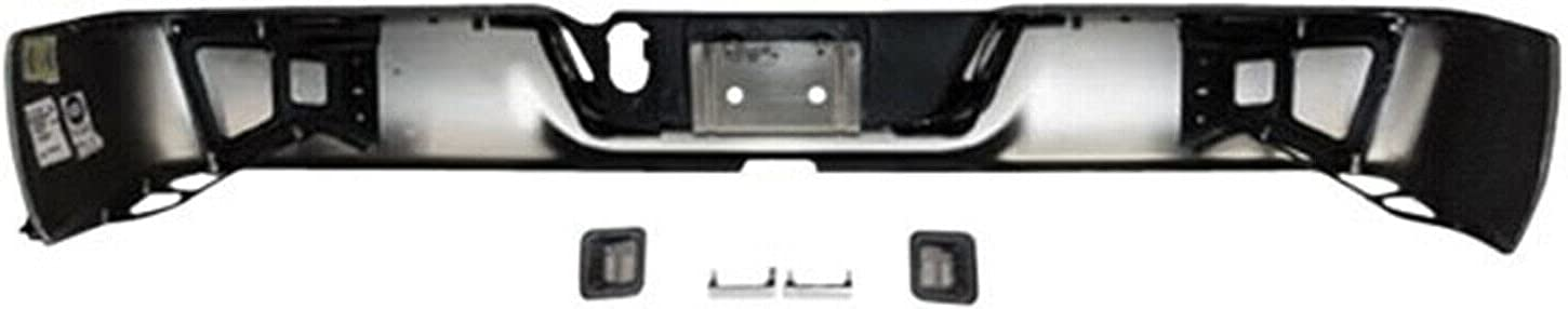 Puermto Chrome Steel Rear All items free shipping Bumper Store Compatible with Assembly 2013-2
