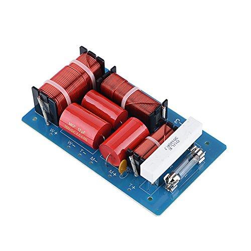 600 / 4500Hz ljud- och videofrekvensdelningsdelar, 800 W 3-vägs delningsfilter frekvensdelare, hi-fi diskant-alto-bas soundshelf crossover filter, bashögtalare och diskant för subwoofer hi-fi-högtalare