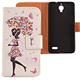 Lankashi PU Case Cover Skin Etui Flip Housse Cuir Coque Protection Pour Bouygues...