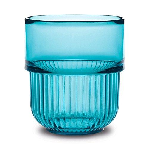 AUTHENTICS - Gobelets salle de bains bleu design authentics kali (set de 2)
