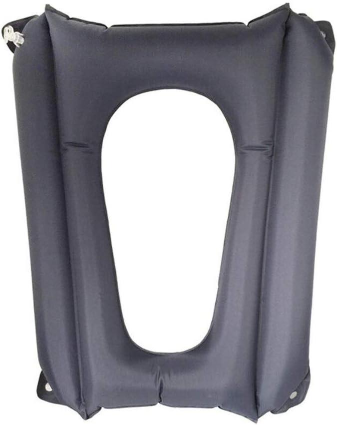 Cojín de aire para silla de baño Cojín inflable Asiento antiescaras Silla para silla de ruedas Cojín para silla de ruedas Mentón