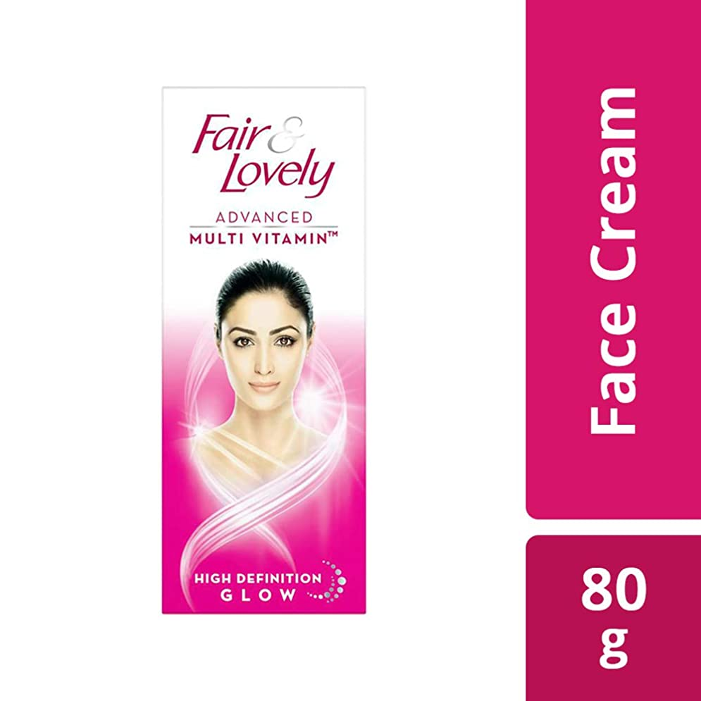 トレイルパール真鍮Fair & Lovely Advanced Multi Vitamin Face Cream, 80g