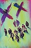 DC Comics - Suicide Squad - Stand - Retro Druck Plakat Film