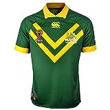 Australia Kangaroos 2017 - Maillot de Rugby à 13 Pro Domicile - Vert Centenaire - Taille XXL
