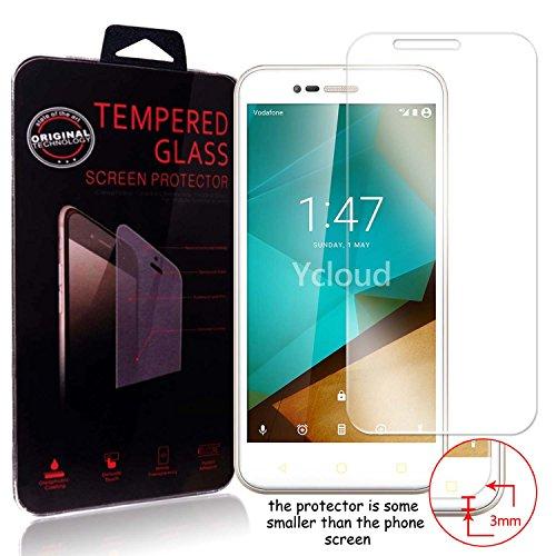 Ycloud Panzerglas Folie Schutzfolie Bildschirmschutzfolie für Vodafone Smart Prime 7 screen protector mit Festigkeitgrad 9H, 0,26mm Ultra-Dünn, Abger&ete Kanten