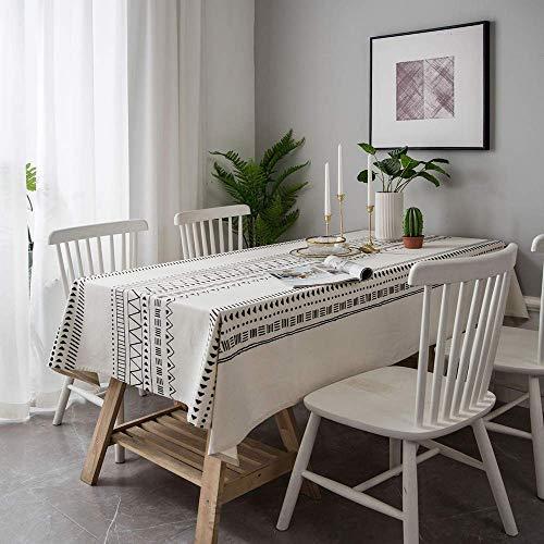 N/X Dekorative Tischdecke Baumwolltuch TischdeckeTischdecken Esstischbezug Kaminsims Mesa Tischdecke