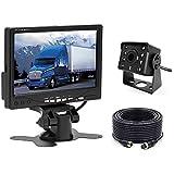 Caméra de recul pour Voiture Camecho + Kit Moniteur LCD 7'TFT 12V - 24V Kit de...