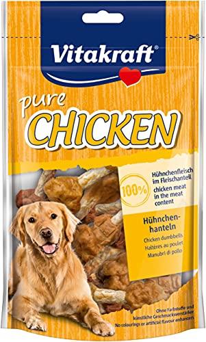 Vitakraft 1571260031 - Snack muslitos de Pollo 100% Naturales para Perros 80 gr