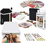 Best Cheap Wireless Printers - Polaroid Zip Wireless Photo Printer (White) Starter Bundle Review