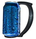 GoPong The Can Grip - Instantly Turns Your Can Into a Mug Handle, Set of 5, 12-Ounce (Black)