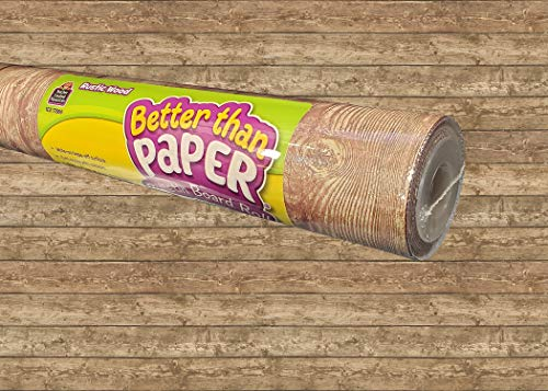 Teacher Created Resources Rustic Wood Better Than Paper Bulletin Board Roll (TCR77884)