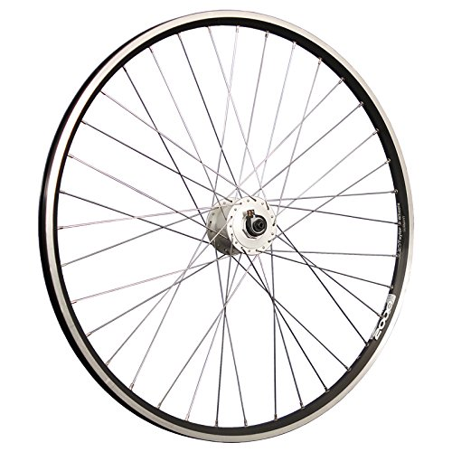 Taylor-Wheels 28 Pollici Ruota Anteriore Bici ZAC2000 mozzo Dinamo DH-C3000 Nero