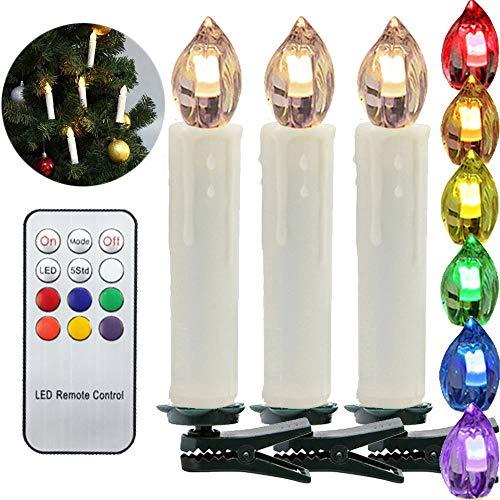 Noël LED bougies lumières de Noël bougies de Noël avec t