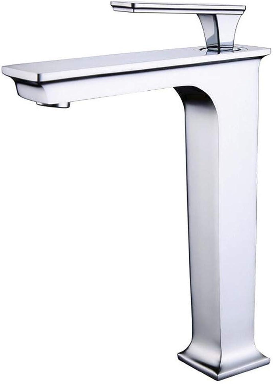 Waschtischarmaturenalle Kupfer Hei Und Kalt High-Top-Bühne Becken Wasserhahn Waschbecken Becken Waschbecken Waschbecken Wasserhahn