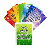 Because I'm Happy Positive Affirmation Cards - 54 Affirmations, 150+ Inspirational Questions - Colorful Deck with Storage Box - Daily Self Care Kit & Mindfulness Gifts for Kids, Teens, Men & Women
