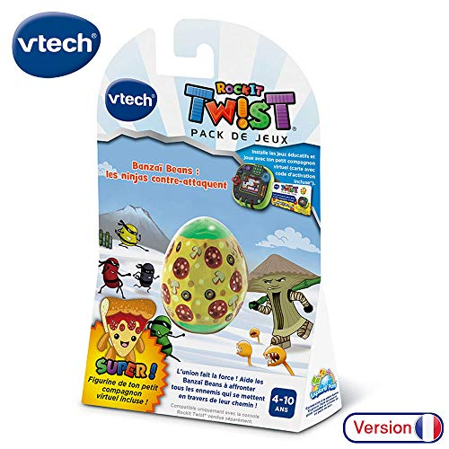 Vtech – Rockit Twist – Spiel Banzai Beans – Die Ninjas Gegenangriff – Lernspiel