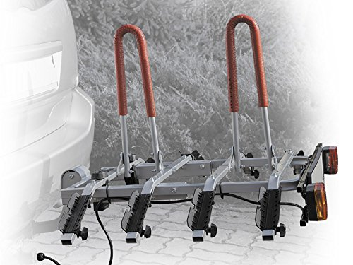 Summit SUM-607 Portabicicletas para la Bola de Remolque, 4 Bicicletas