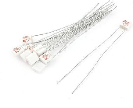 20pzas AC 250V 1A 4x11mm lentos de cable axial interino tubo Fusible cerámico